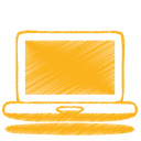 yellow-laptop-icon