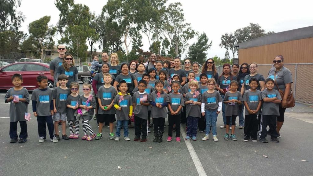 Empower Language Academy students at Linda Vista Multicultural parade